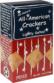 all-american crackers lightly salted Partners Nutrition info