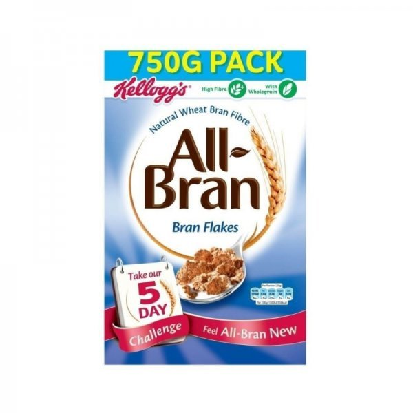 all bran wheat flakes Kellogg's Nutrition info