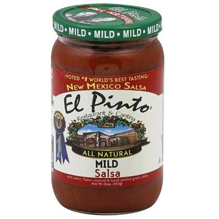 all natural mild salsa El Pinto Nutrition info