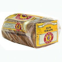 all natural sun grain bread Roman Meal Nutrition info