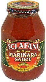 all purpose marinara sauce Sclafani Nutrition info