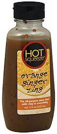all-purpose sauce orange ginger zing Hot Squeeze Nutrition info