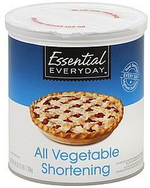 all vegetable shortening Essential Everyday Nutrition info
