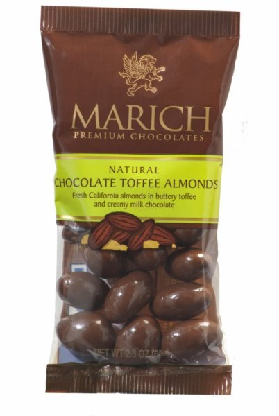 almond chocolate toffee Marich Nutrition info