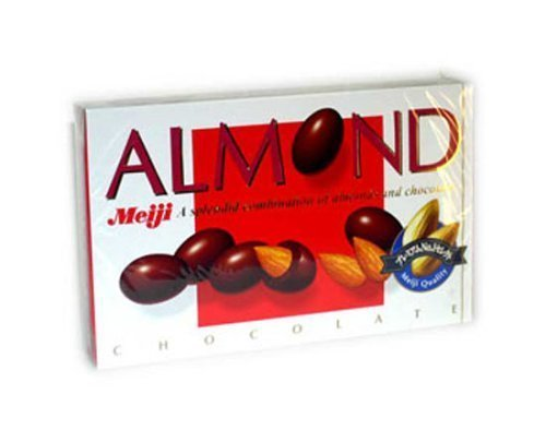 chocolate almonds Meiji Nutrition info