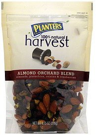 almond orchard blend Planters Nutrition info