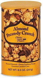 almond pecan-dy crunch Morley Candy Makers Nutrition info