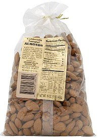 almonds california natural Orchard Valley Harvest Inc. Nutrition info