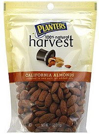 almonds california Planters Nutrition info