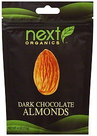 almonds dark chocolate Next Organics Nutrition info