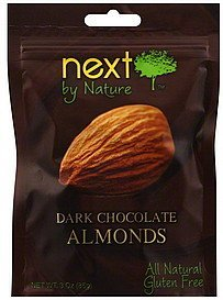 almonds dark chocolate Next by Nature Nutrition info