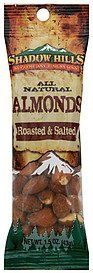 almonds roasted & salted Shadow Hills Nutrition info