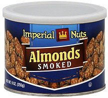 almonds smoked Imperial Nuts Nutrition info