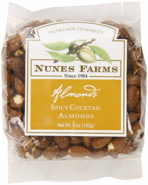 almonds spicy cocktail Nunes Farms Nutrition info