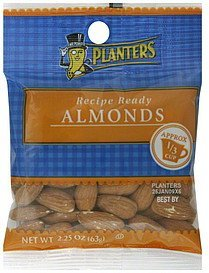 almonds Planters Nutrition info