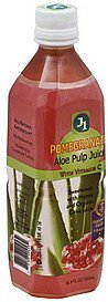 aloe pulp juice pomegranate J1 Nutrition info