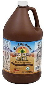 aloe vera gel inner fillet Lily of the Desert Nutrition info