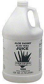 aloe vera juice full strength Aloe Farms Nutrition info
