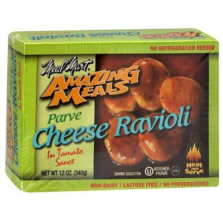amazing meals cheese ravioli in tomato sauce Meal Mart Nutrition info