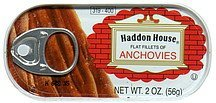 anchovies, flat fillets Haddon House Nutrition info