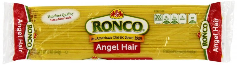 angel hair Ronco Nutrition info