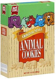 animal cookies original style Rippin' Good Nutrition info