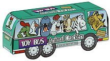 animal crackers chocolate & vanilla Toy Bus Nutrition info