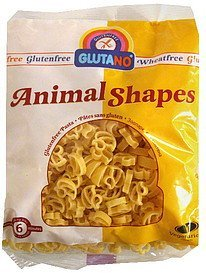 animal shapes Glutano Nutrition info