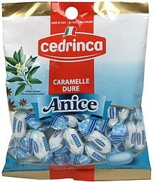 anise hard candies Cedrinca Nutrition info