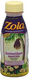 antioxidant smoothie berry blend Zola Nutrition info