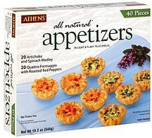 appetizers Athens Nutrition info