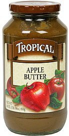 apple butter Tropical Nutrition info