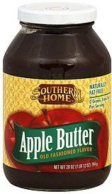 apple butter Southern Home Nutrition info