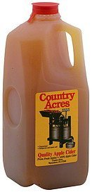 apple cider quality Country Acres Nutrition info