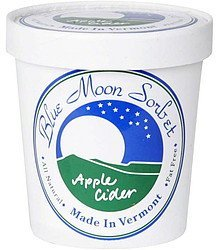 apple cider sorbet Blue Moon Sorbet Nutrition info
