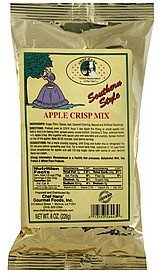apple crisp mix southern style Chef Hans Nutrition info