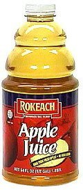 apple juice Rokeach Nutrition info