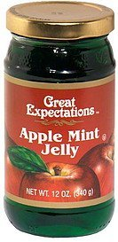 apple mint jelly Great Expectations Nutrition info