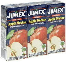 apple nectar from concentrate Jumex Nutrition info