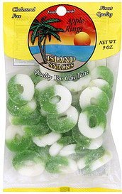 apple rings Island Snacks Nutrition info