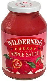 apple sauce, cherry flavored Wilderness Nutrition info