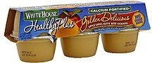 apple sauce golden delicious White House Nutrition info