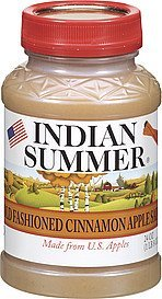 apple sauce old fashioned cinnamon Indian Summer Nutrition info