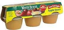 apple sauce White House Nutrition info