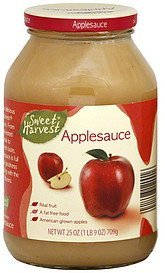 applesauce Sweet Harvest Nutrition info