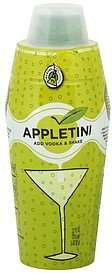 appletini Cocktail RX Nutrition info