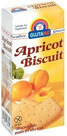 apricot biscuit Glutano Nutrition info