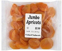 apricots jumbo Valued Naturals Nutrition info
