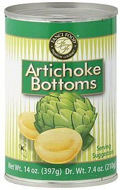 artichoke bottoms Fanci Food Nutrition info