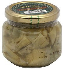 artichoke hearts quartered & marinated Table Joy Nutrition info